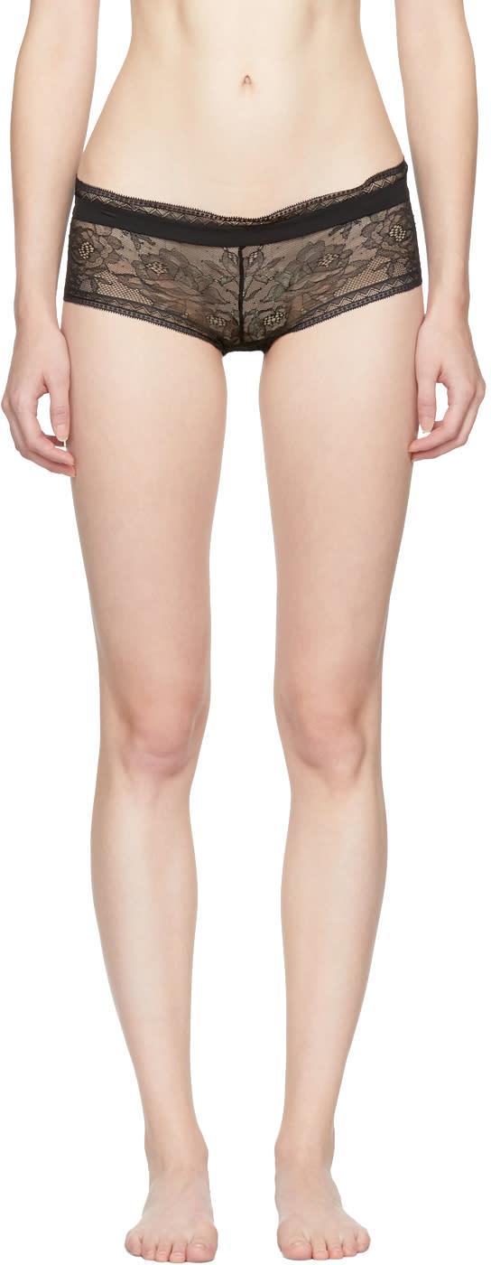 Image of Calvin Klein Underwear Black Obsess Hipster Briefs