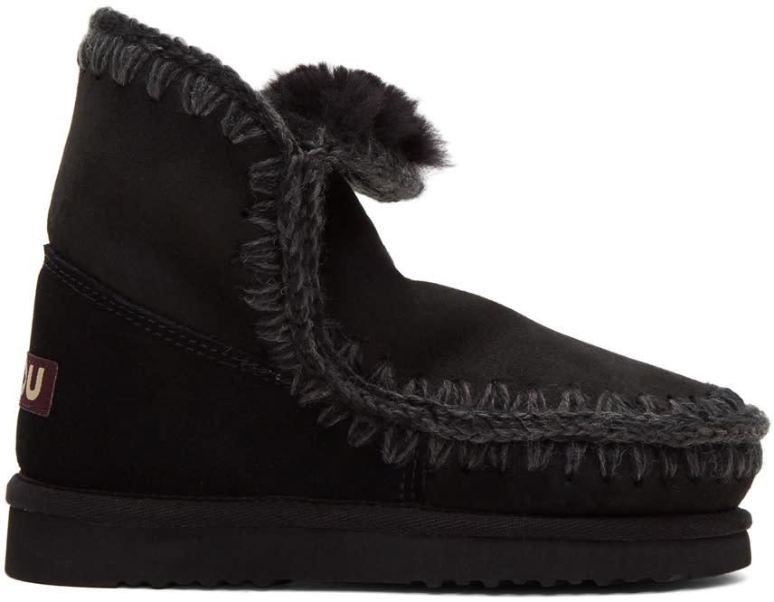 Image of Mou Black Eskimo 18 Boots