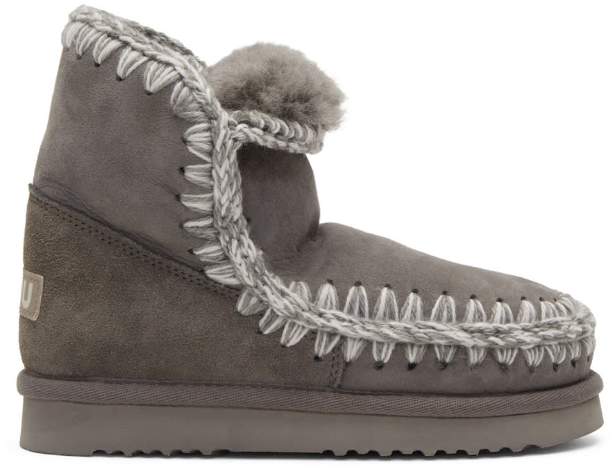 Image of Mou Grey Eskimo 18 Boots