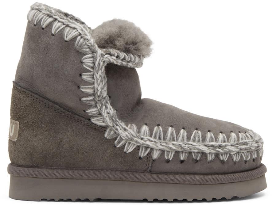 Image of Mou Grey Eskimo 18 Boots
