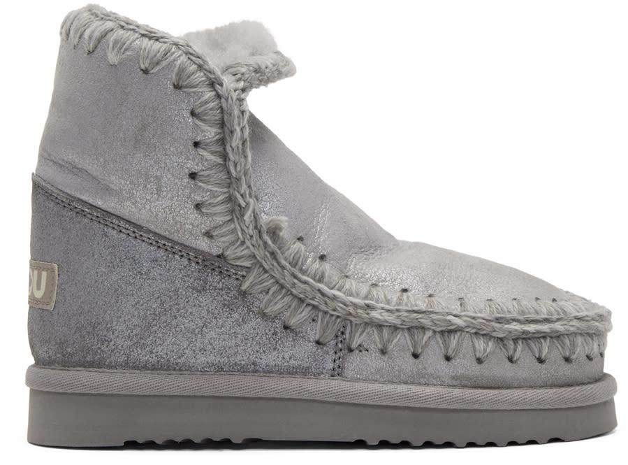 Image of Mou Silver Eskimo 18 Boots