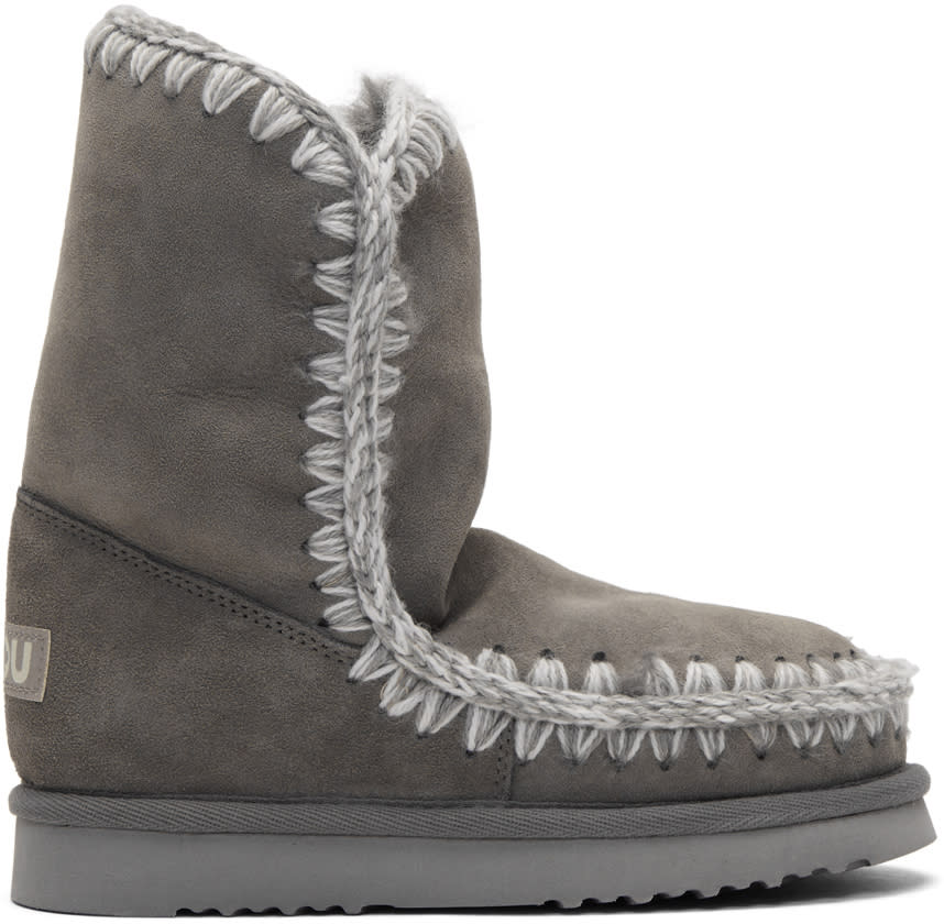 Image of Mou Grey Eskimo 24 Boots