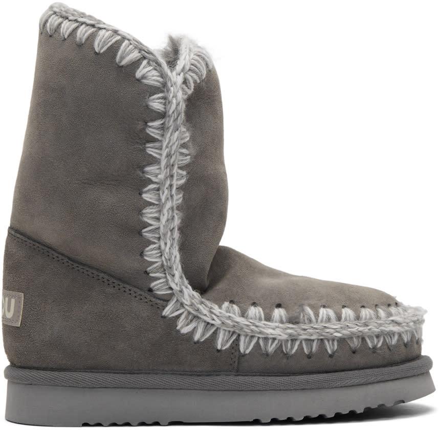 Image of Mou Grey Eskimo 24 Boots