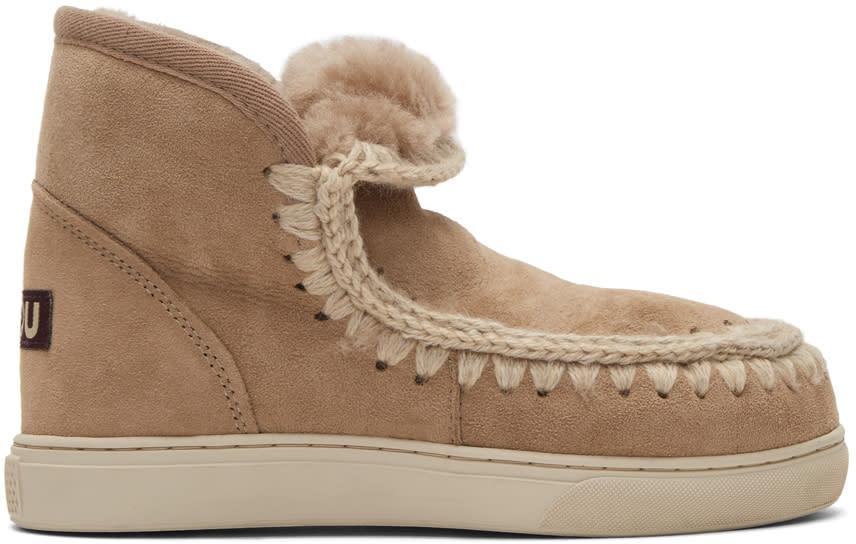 Mou Tan Mini Eskimo Sneaker Boots