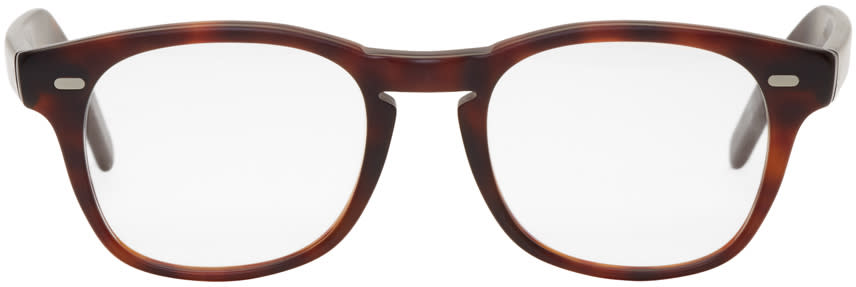 Image of Cutler And Gross Tortoiseshell 1046 Glasses
