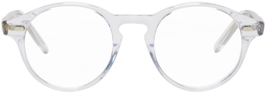 Image of Cutler And Gross Transparent 1234 Glasses