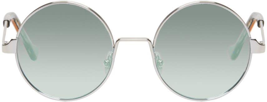 Image of Cutler And Gross Silver 1137-2 Sunglasses