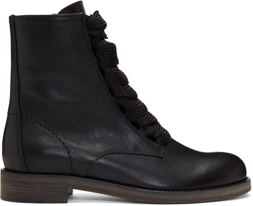 Chloe Black Harper Palmer Boots