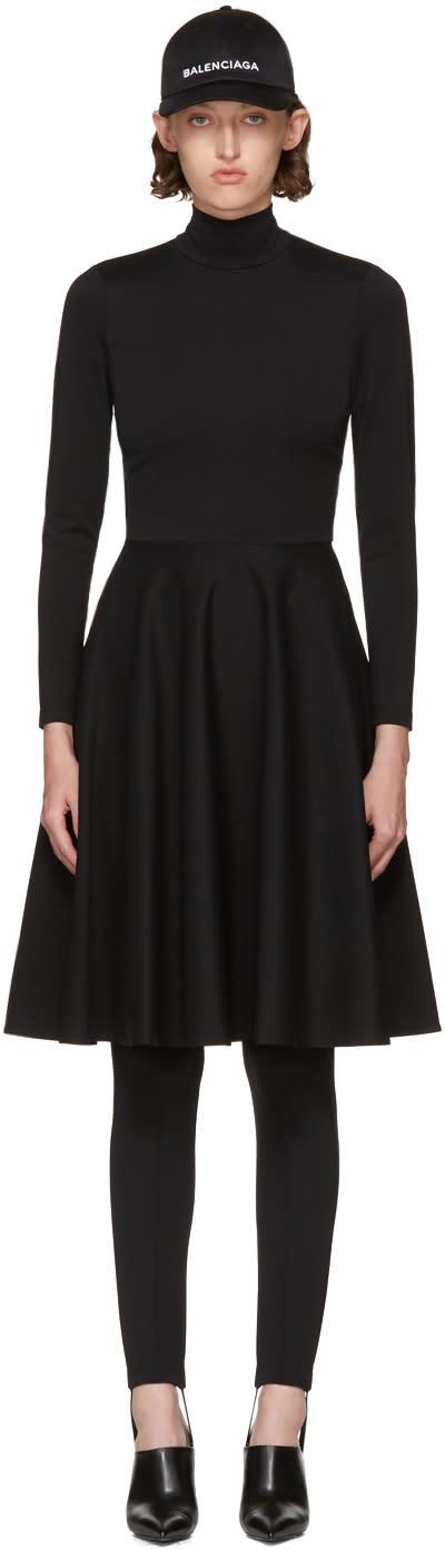 Balenciaga Black Ice Skater Dress