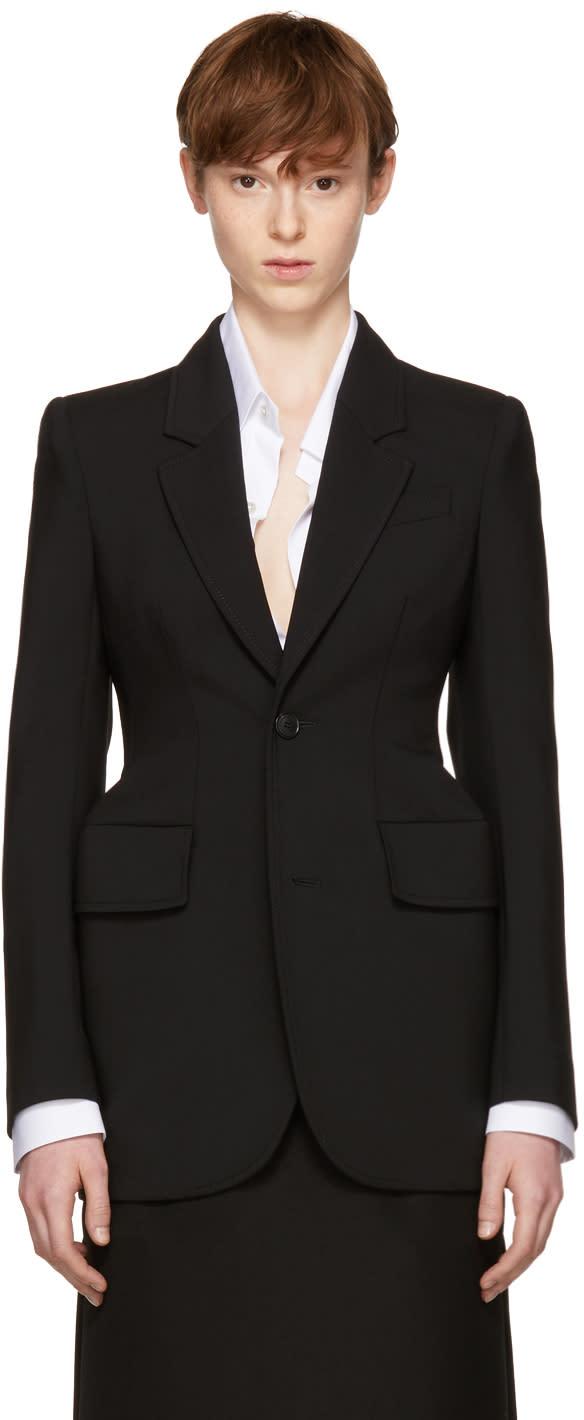 Balenciaga Black Hourglass Blazer