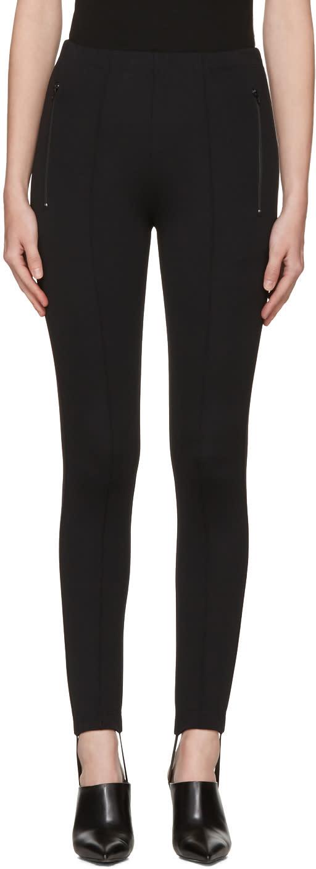 Balenciaga Black Fuseau Jogger Pants