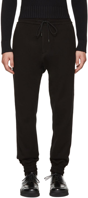 Image of Juun.j Black Drop Lounge Pants