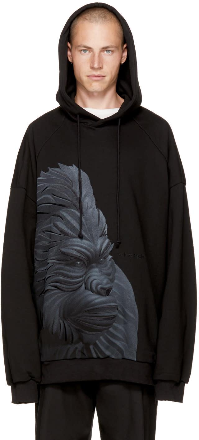 Image of Juun.j Black Gorilla Hoodie