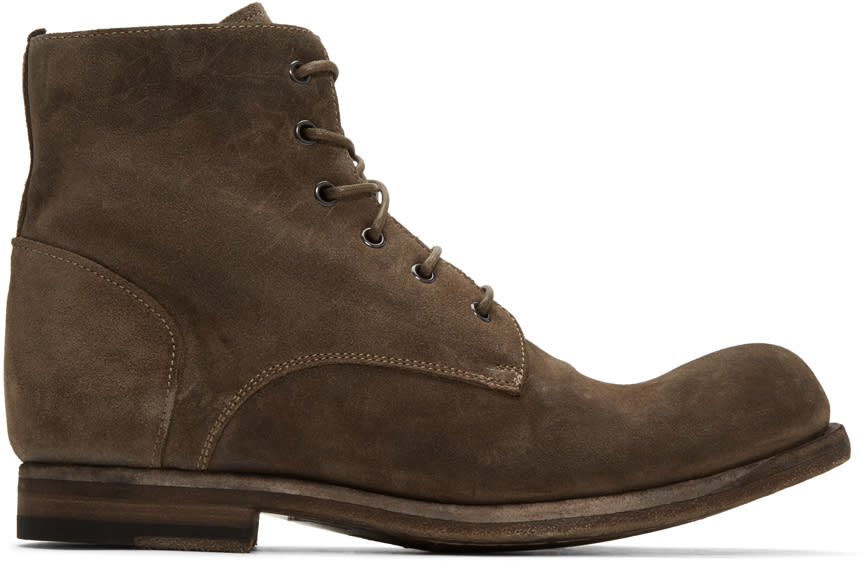 Officine Creative Brown Bubble 03 Boots