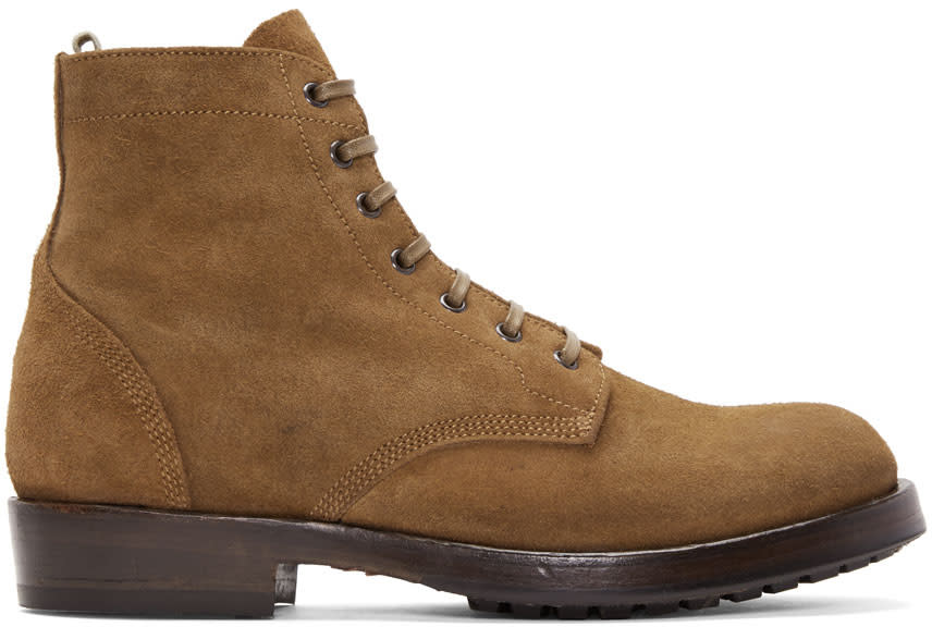 Image of Officine Creative Brown Lowry Boots