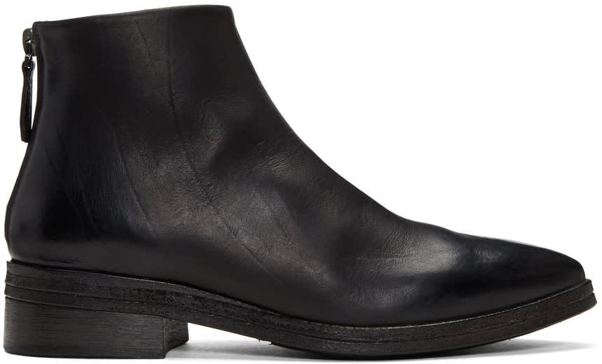 Marsell Black Listone Boots