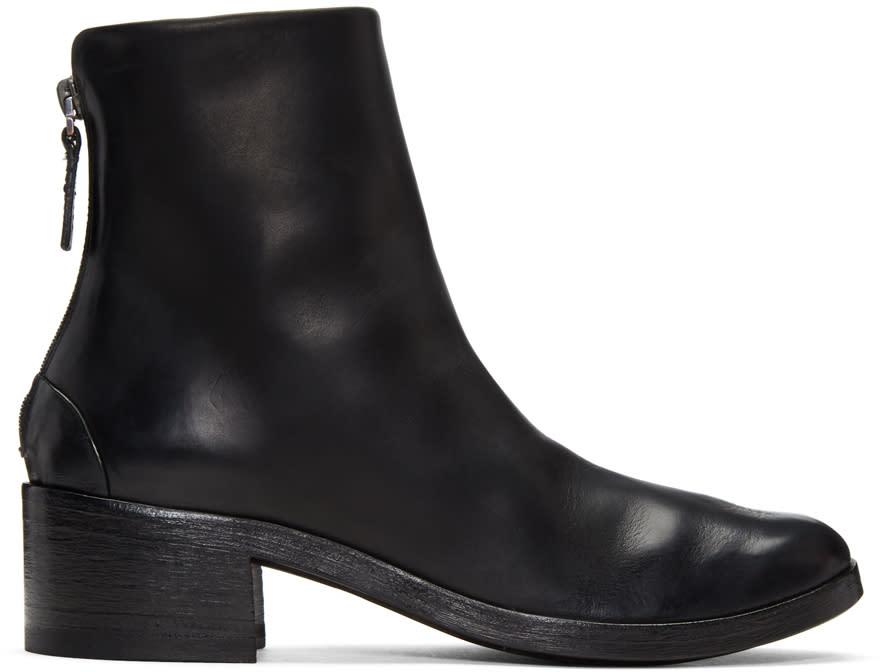 Marsell Black Listo Boots