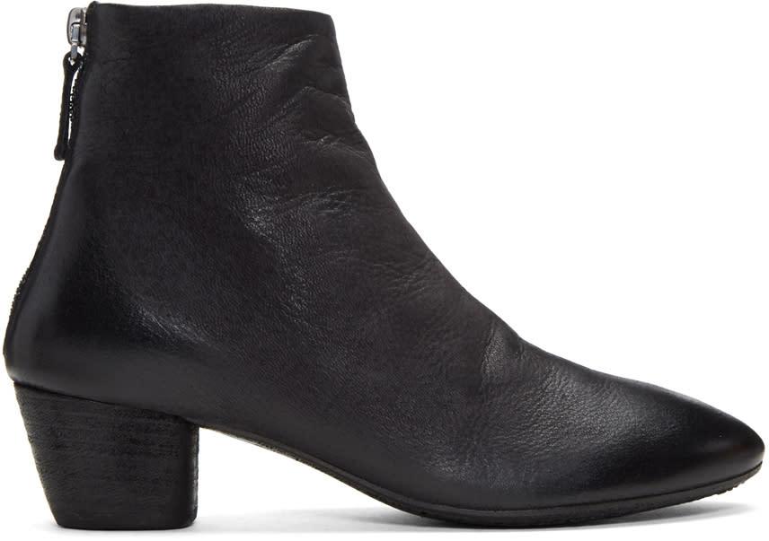 Marsell Black Coltello Inverno Boots
