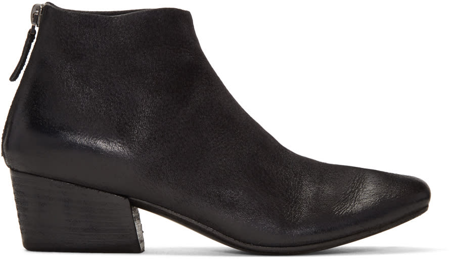 Marsell Black Freccia Boots