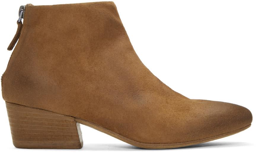Marsell Tan Freccia Boots