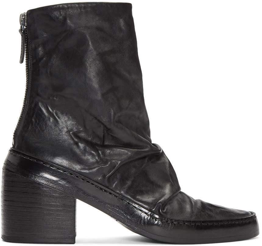 Marsell Black Ferro Boots