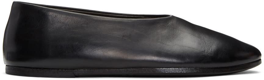 Marsell Black Coltellaccio Ballerina Flats