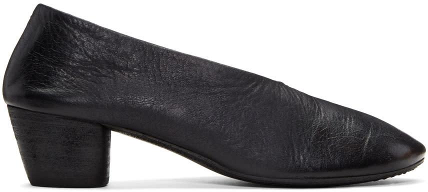 Marsell Black Coltello Invernale Heels