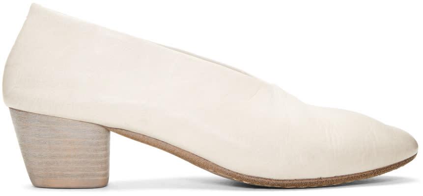 Marsell White Coltello Invernale Heels
