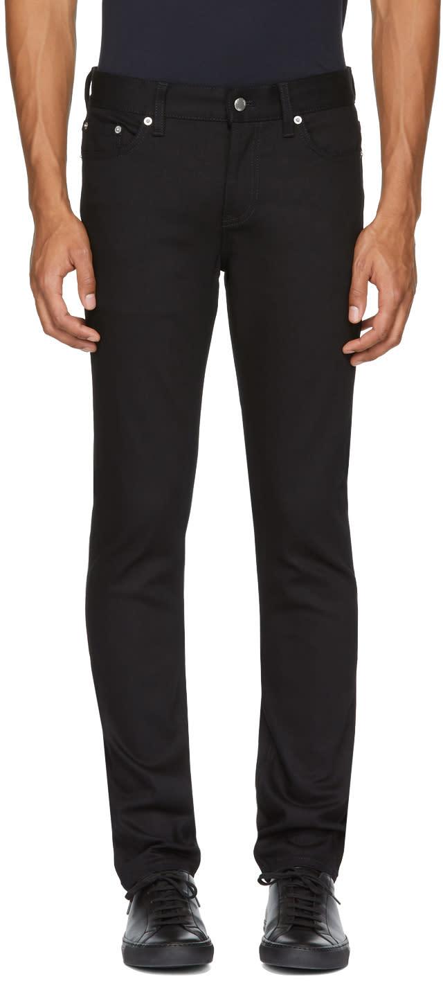 Image of Blk Dnm Black Skinny Taper 5 Jeans