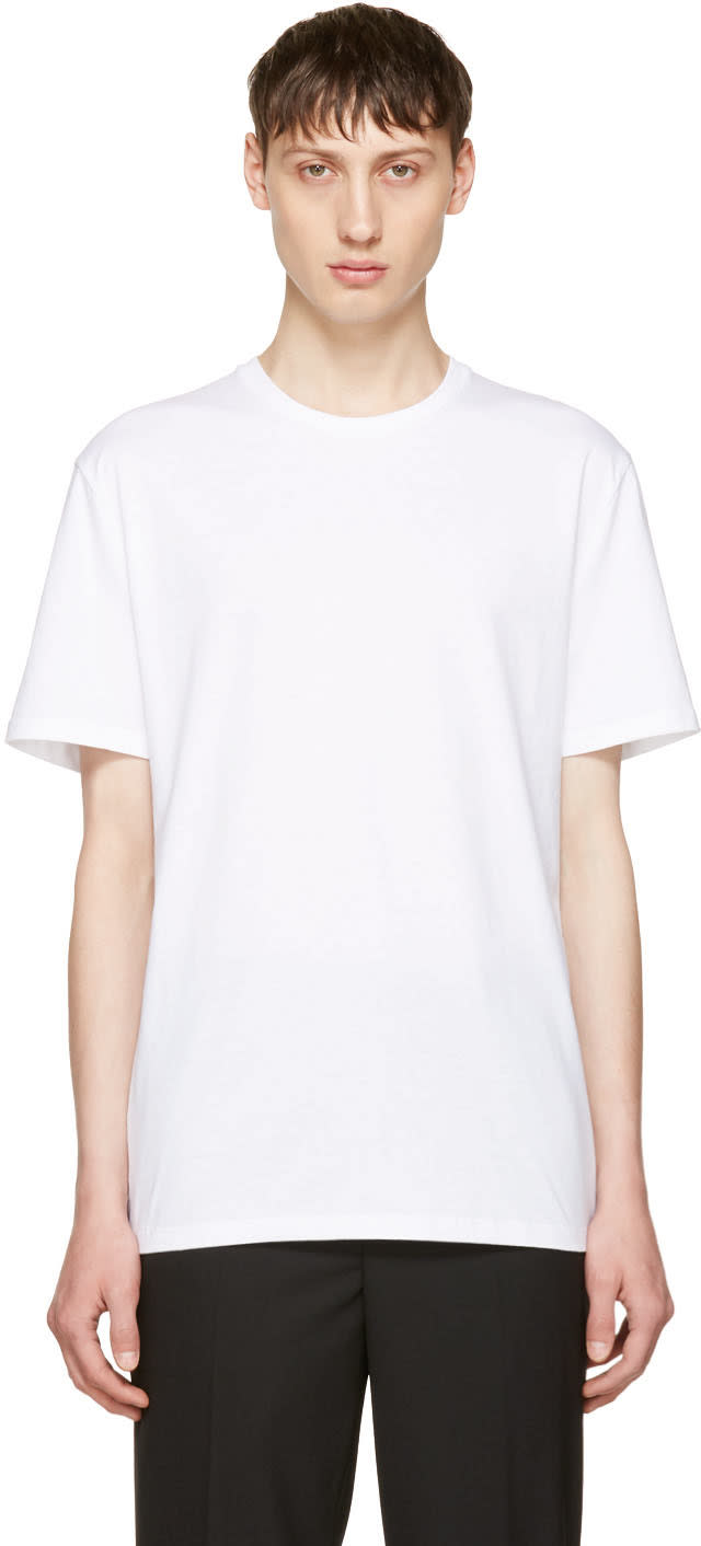 Neil Barrett White neilbarrett T-shirt