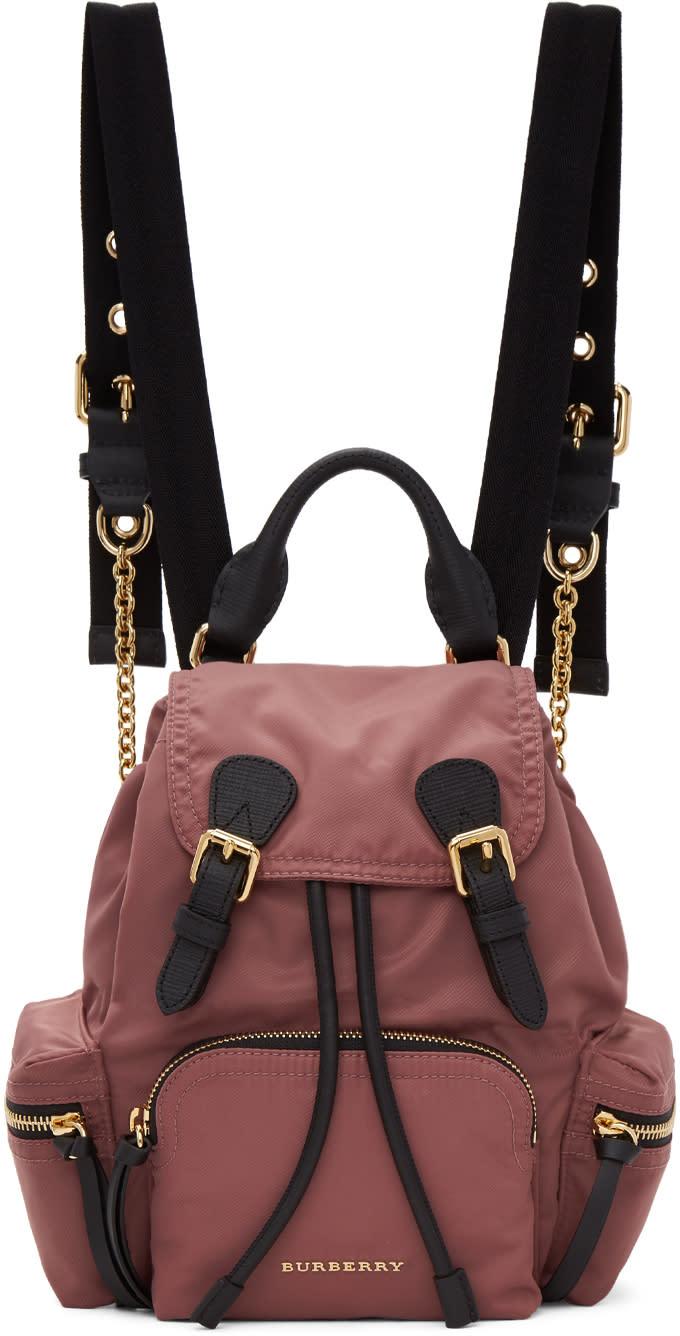 Burberry Pink Small Rucksack