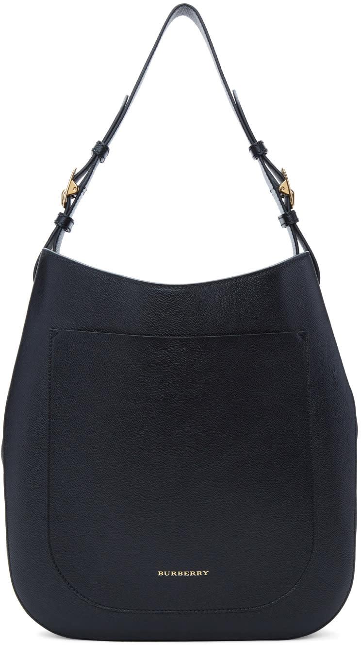 ca3a0ecc627b Burberry Black Small Elmstone Hobo Bag