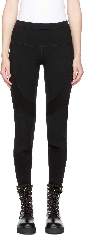 Image of Burberry Black Argill Leggings