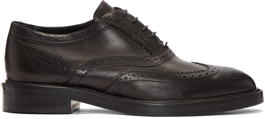 Image of Burberry Black Gennie Brogues