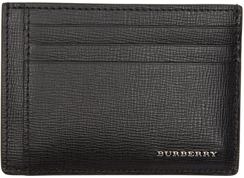 Burberry Black London Card Holder