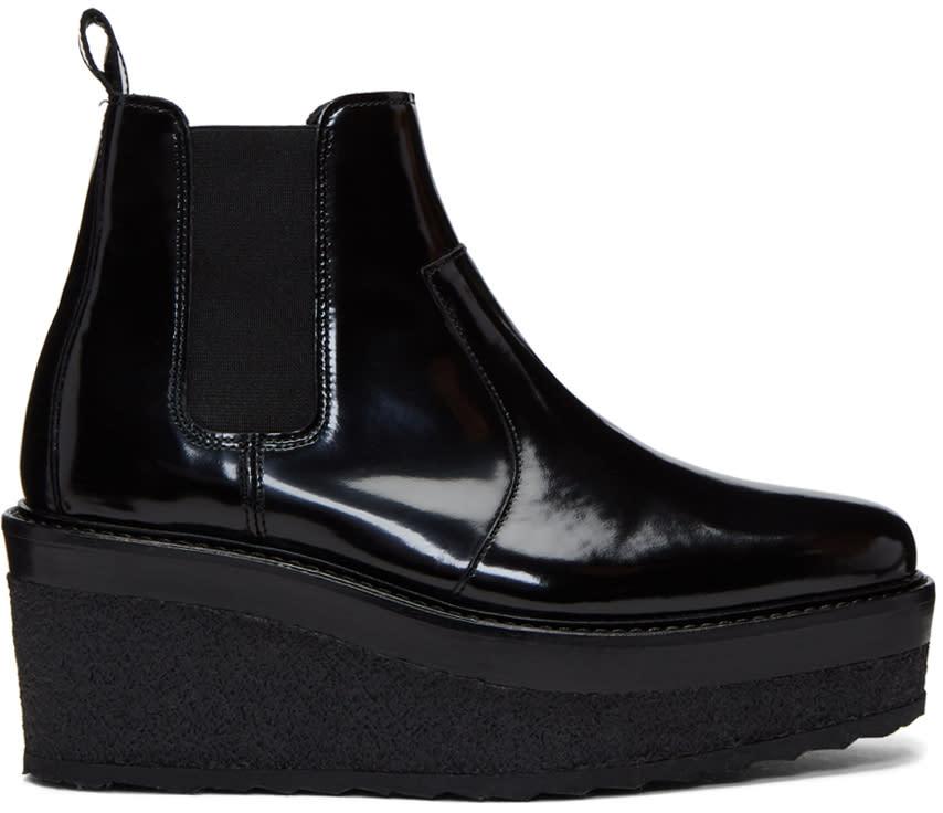 Image of Pierre Hardy Black Jodhpur Boots