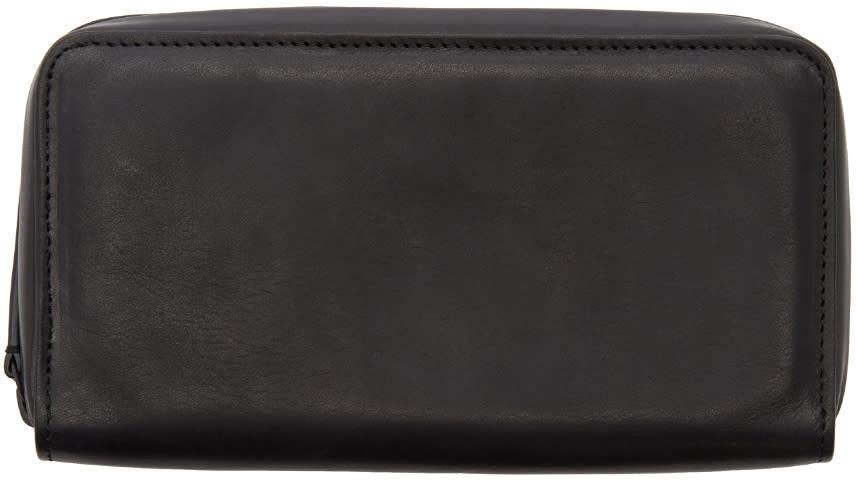 Image of Ann Demeulemeester Black Alana Long Zip Wallet