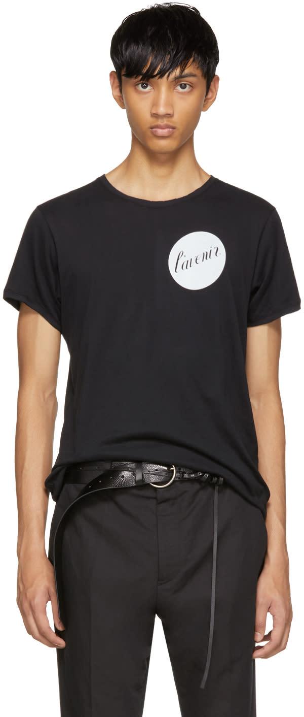 Ann Demeulemeester T-shirt Noir lavenier