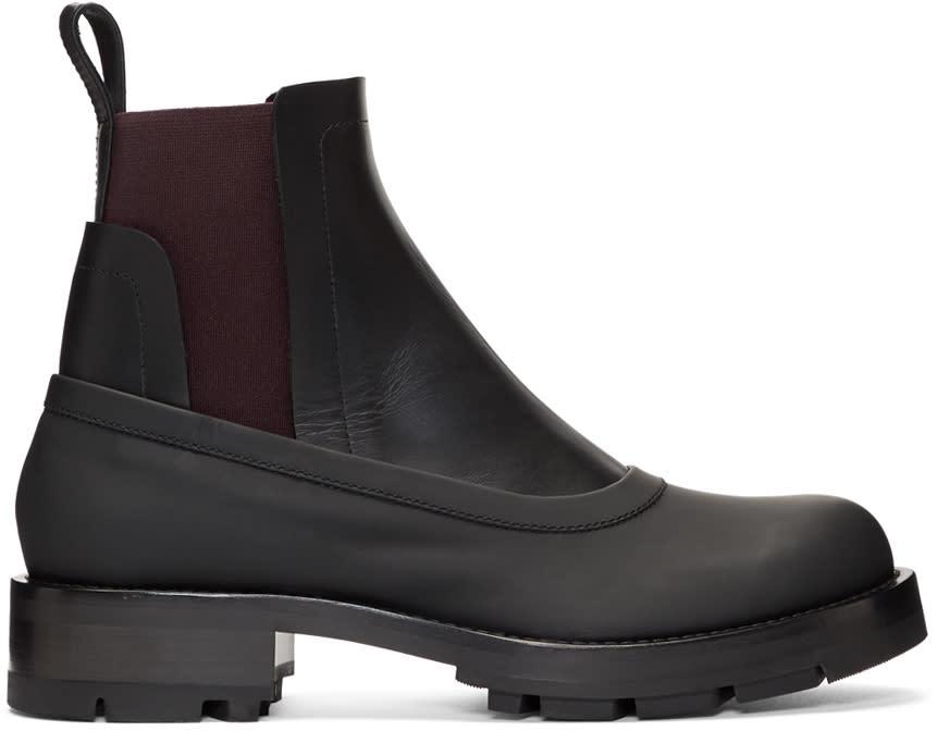 Image of Marni Black Chelsea Boots