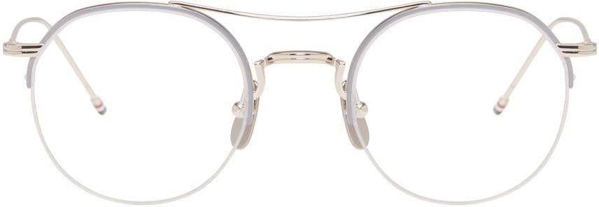 Thom Browne Silver Tb-903 Glasses