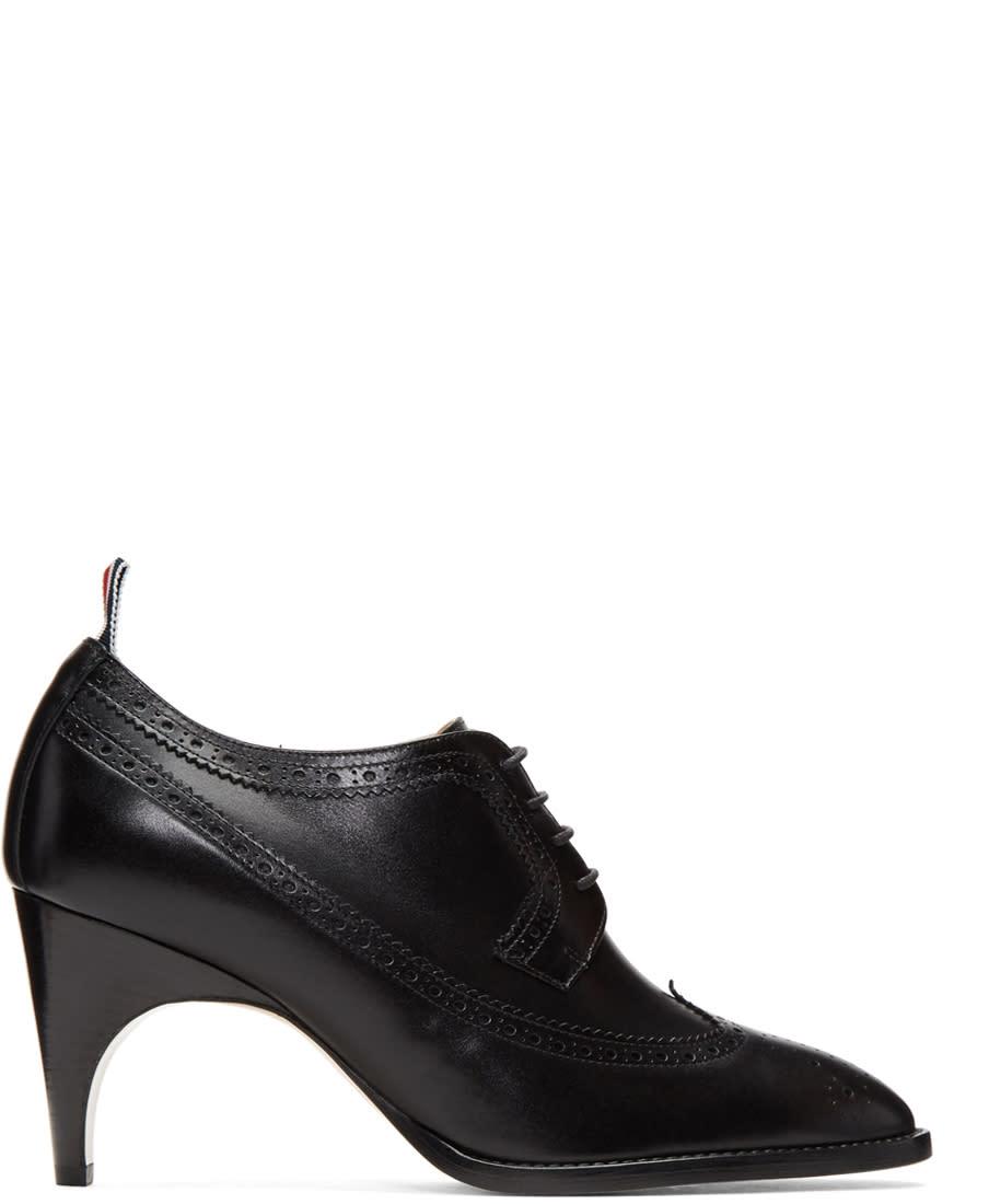 Thom Browne Black Longwing Heels