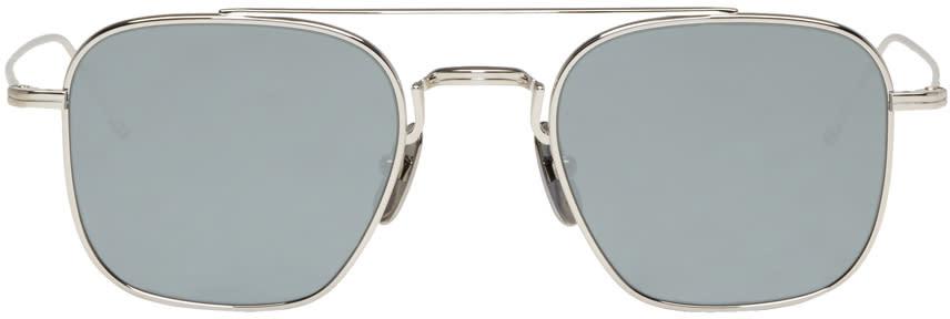 Thom Browne Silver Tb 907 Sunglasses