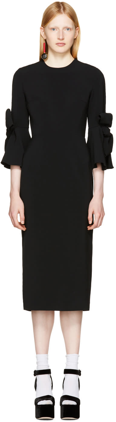 Image of Roksanda Black Lavete Dress