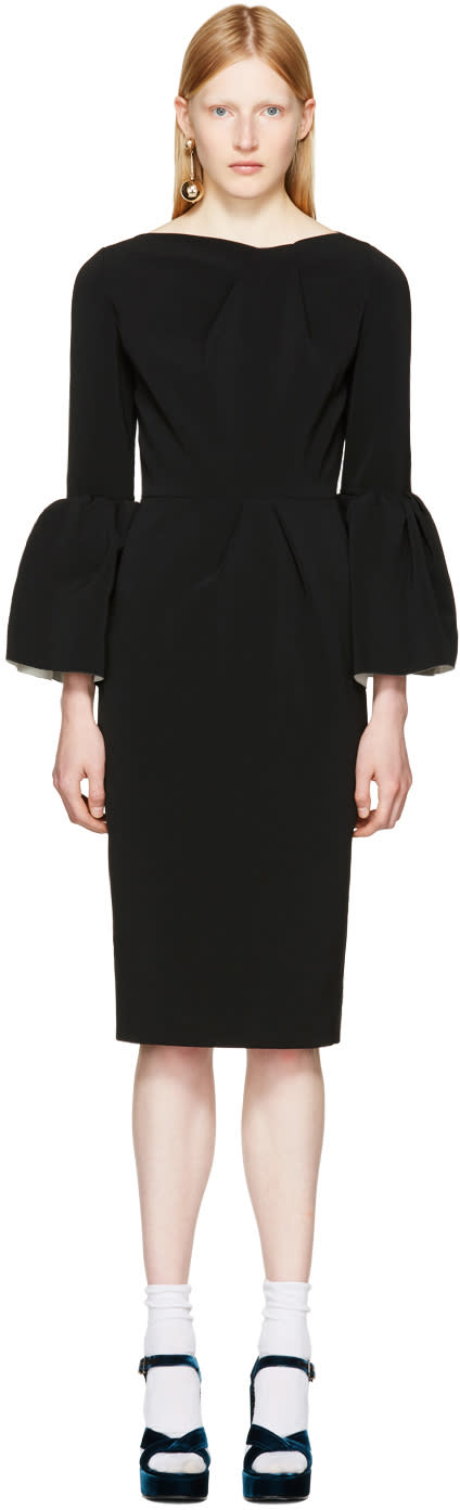 Image of Roksanda Black Margot Dress