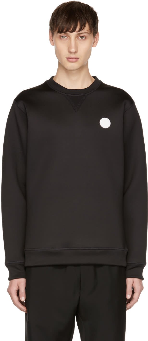 Image of Kenzo Black Bonded Classic Sweatshirt