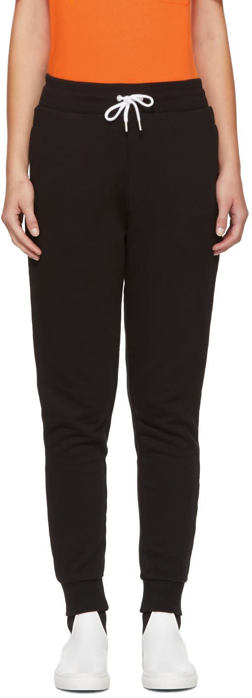 Image of Maison Kitsuné Black Fox Patch Jogg Lounge Pants