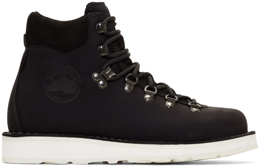 Diemme Black Nubuck Roccia Vet Boots