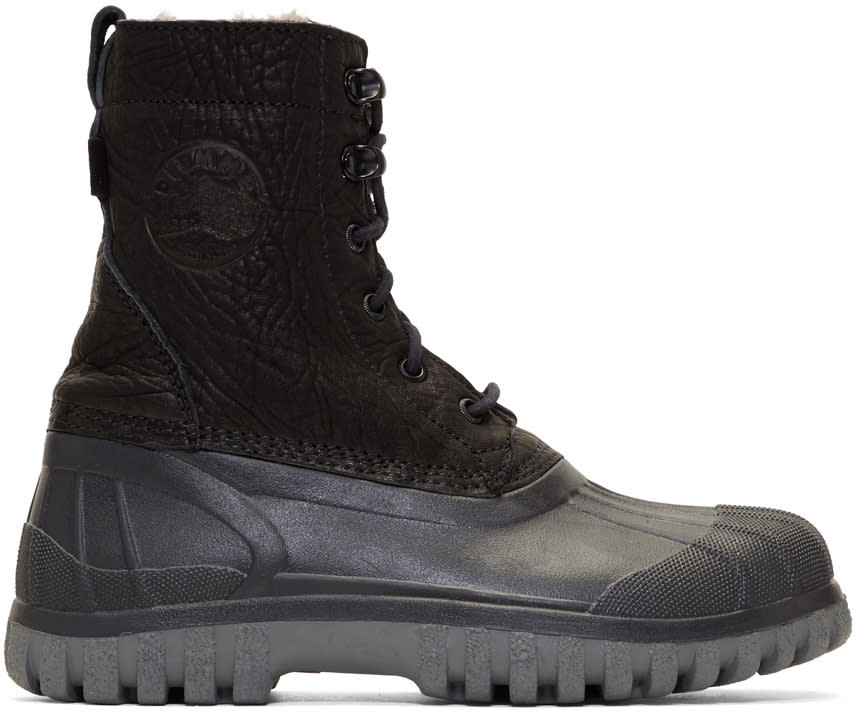 Image of Diemme Black Anatra Boots
