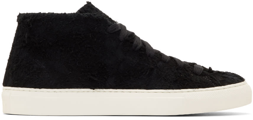 Diemme Black Suede Loria High-top Sneakers