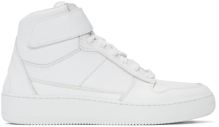 Diemme White Brenta Alto High-top Sneakers